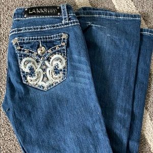 Jeans with bling